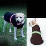 Rivestimento riflettente protettivo di Coldproof del cane del cappotto della banda dell'animale domestico LED