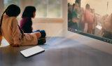 2016 nuevo OS video elegante del androide 5.1 del Wi-Fi Bluetooth del proyector del LED con la pantalla táctil 8-Inch, auricular
