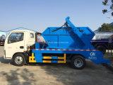 Caminhão de lixo do braço da nadada de Dongfeng 4cbm 4ton