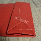 Bolsa de papel de Kraft del fabricante de papel del diseño con la maneta de la torcedura