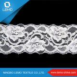Bloqueo del cordón de Jordania de la buena calidad de Lemo, cordón de doble filo del terciopelo para la venta