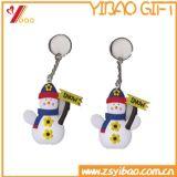 3D PVC Keychain, изготовленный на заказ мягкий PVC Keychains, мягкая резина Keychain PVC