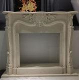 Casa europea di pietra naturale De&simg di stile; Oration che intaglia Firepla&simg di marmo; E