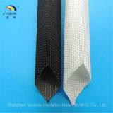 Glasvezel Sleeving Koker van de Draad van de Kabel van de Isolatie van 400 - 600 Graad de Elektro