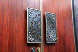 O Novo Estilo Chinês de Porta de Cobre com Madeira por Estilo Diferente de dentro e por fora