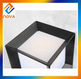 Pilar directo del aluminio IP44 de la fábrica luz al aire libre del pilar de 110 voltios