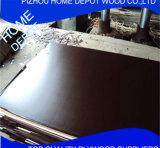 la película de la talla 1250X2500 hizo frente a la madera contrachapada de /Shuttering de la madera contrachapada. Madera contrachapada marina