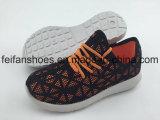 Le calzature casuali di vendita calde dei bambini calzano i pattini di tela di canapa dell'iniezione (FFHH-092801)