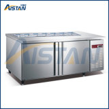 Gd4 4 portas cozinha comercial congelador gabinete refridgerated