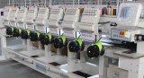 8 máquinas planas del bordado del casquillo principal/máquina automatizada función multi principal multi del bordado