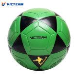 Зеленый обычный Scuff-Упорный футбол No 5