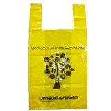Пластичная сильная хозяйственная сумка тенниски с Gusset