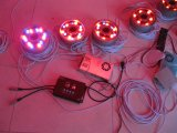 Hete Yaye 18 verkoopt 9W het LEIDENE DMX512 Licht van de Fontein/9W het LEIDENE Onderwater Lichte 9W Licht van de Pool IP68/DMX512