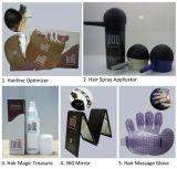Dos cosméticos de cabelo do produto pó das fibras do cabelo inteiramente