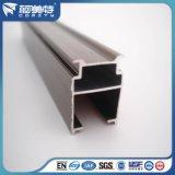 تخصيص الألومنيوم النتوء الستار الرف / السكك الحديدية مع اللون الأبيض