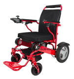 여행을%s 접히는 휴대용 전자 휠체어