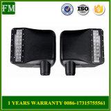 Nicht für den Straßenverkehr LED-hintere Ansicht-Spiegel-gelbe Lichter für JeepWrangler Jk