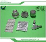 Peças de alumínio Titanium fazendo à máquina da máquina do CNC da precisão do metal plástico de aço de cobre do suíço
