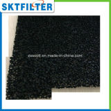 Губка пены активированного угля Skt черная