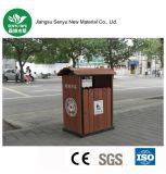 Cubo de basura al aire libre modificado para requisitos particulares de WPC