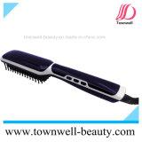 Alisar el cabello Plancha Cepillo con generador de iones