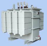Cobre de la fábrica del equipo de potencia que enrolla 3 el tipo inmerso en aceite de alto voltaje transformador de la fase 33kv de la distribución de potencia
