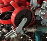 Mobiles Baugerüst-Fußrollen-Hochleistungsrad mit Bremse