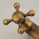 Bronze contínuo ajustado do chuveiro da antiguidade de FLG com o Faucet da montagem da parede