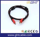 cavo di alta qualità HDMI di 2m con intrecciatura di nylon 1.4V (D001A)