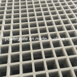 Color gris Grating moldeado FRP liso de la superficie