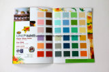 Carta de cor decorativa do sistema Pantone da pintura da parede