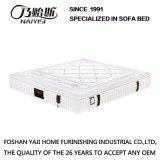 Hoher großartiger Fussel und natürliche Latex-Matratze für Haus oder Hotel Fb658