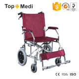 Footplate Taw805labj를 가진 알루미늄 쉬운 겹 수동 휠체어