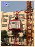 Ascenseur approuvé de la construction 2000kg de la CE de Tdt (SC100/100)