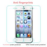 Протектор экрана вспомогательного оборудования телефона Adhension собственной личности стеклянный для iPhone 5/5s