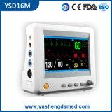 Ce ISO SGS aprobado monitor portátil del paciente multiparámetro