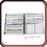 Avec Gift Box Packaging Note promotionnelle Spiral Weekly Planner