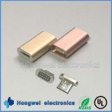 인조 인간을%s 뒤집을 수 있는 5pin 마이크로 자석 USB 접합기