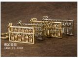 金属の硬貨Keychain、カスタムCarkeyring