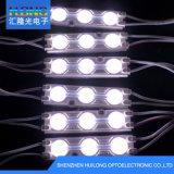 CE/RoHS DC12V Waterproof o módulo do diodo emissor de luz com lente