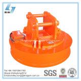 鋳鉄のための高品質の円の掘削機の磁気揚げべら