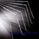 Hoja de acrílico fluorescente de la hoja del plexiglás del alto lustre (XT231) y hoja de PMMA