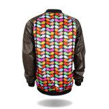 Куртка дешевых оптовых людей пальто способа качества зимы самых лучших кожаный