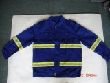 100% пламя хлопка - retardant Pants&Shirt с отражательным