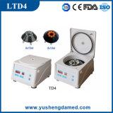 Equipement de laboratoire approuvé CE Centrifugeuse à faible vitesse Ltd4