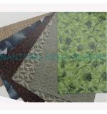 Pvc drukte Kunstleder voor Stoffering, Decoratie (HL005-17) af