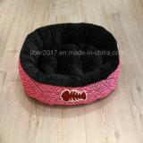 Preto dobro da cor e base francesa cor-de-rosa do animal de estimação para cães