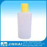 frasco do PE da loção do corpo de 60ml 30ml com tampão de parafuso