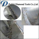 A faixa da pedra do granito da máquina do mármore da estaca do diamante viu a lâmina