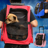 Professional Pull Rod Rolling Portabel Travel Pet Bag